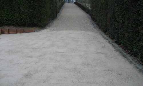 Réalisation parking – Chemin d'accès